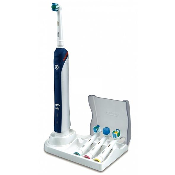 Braun Oral B Professional Care 3000 D20 PINK/BLUE zubní kartáček 1+1 tělo