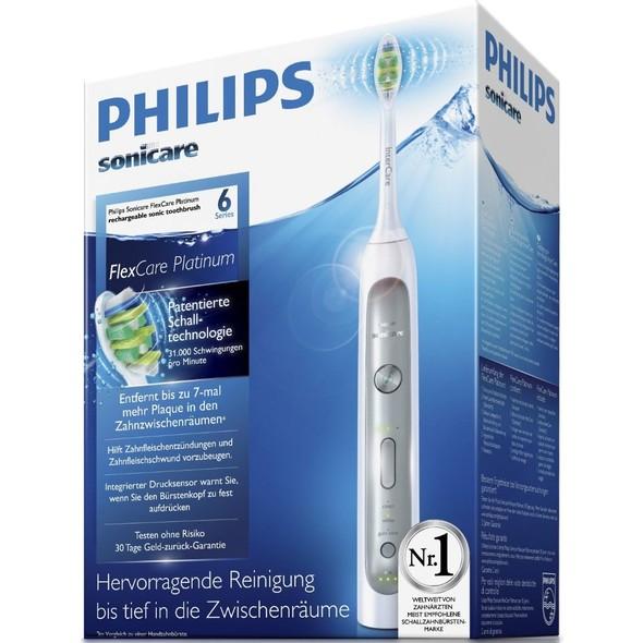Philips Sonicare FlexCare Platinum HX9112/02 + HX6014 ZDARMA