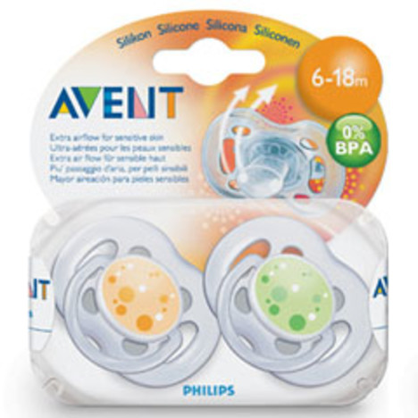 Philips Avent dudlík 6-18 Free Flow 2 ks
