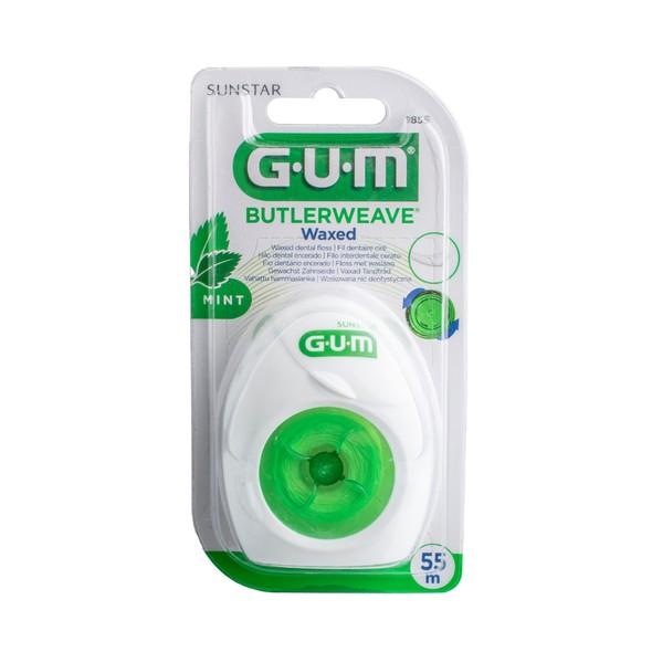 GUM Weave zubní nit voskovaná s mentolem 54,8 m