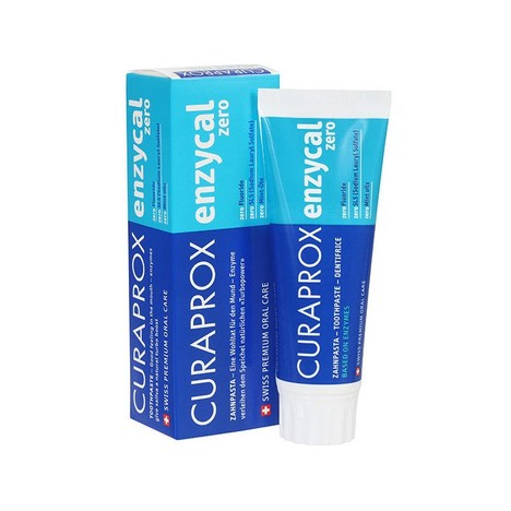 Curaprox Enzycal ZERO zubní pasta 75 ml