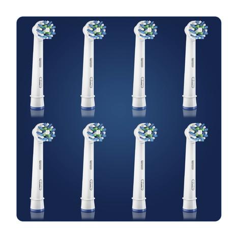 Oral-B CrossAction EB 50-8 náhradní hlavice 8 ks