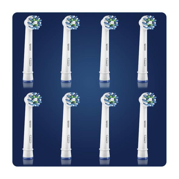 Oral-B CrossAction EB 50-8 náhradní kartáčky 8 ks