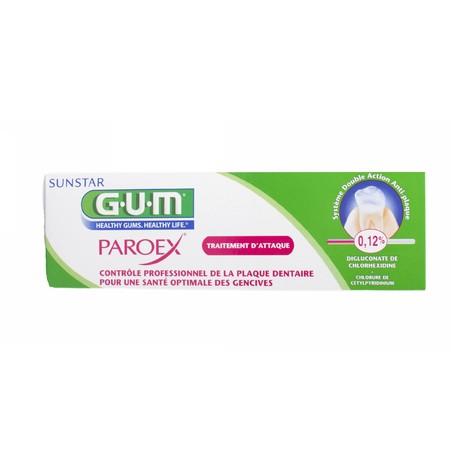 GUM Paroex 0,12% CHX zubní pasta 75 ml