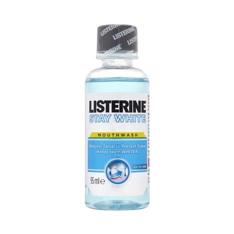 Listerine Stay White ústní voda 95 ml