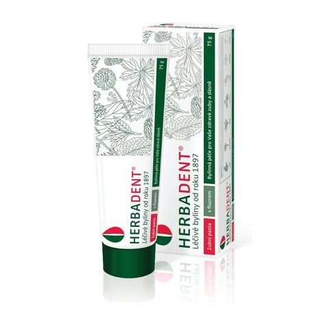 Herbadent bylinná zubní pasta 75 g