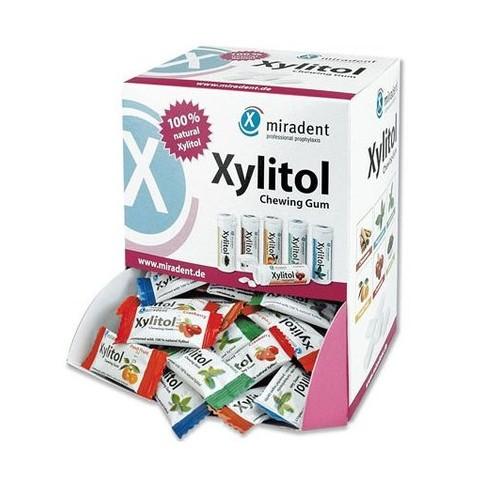 Miradent Xylitol žvýkačky MIX 200x2ks