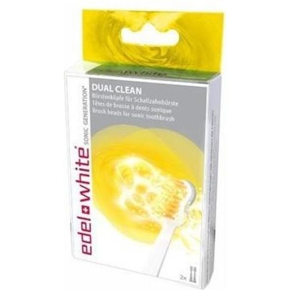 Edel+White náhradní hlavice Dual Clean 2ks