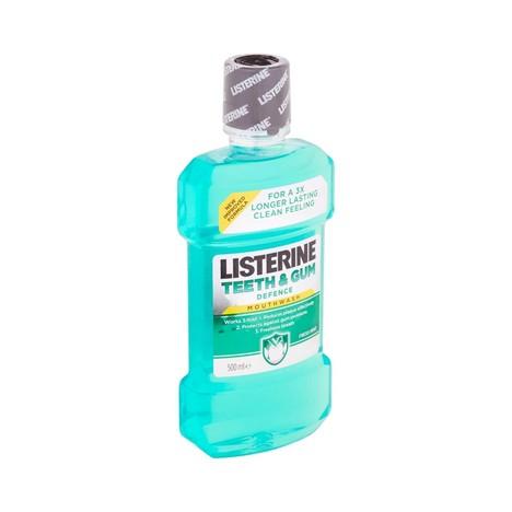 Listerine Teeth & Gum Defence ústní voda 500 ml