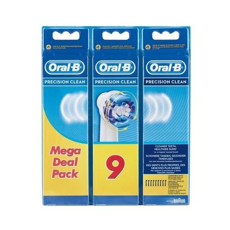 Braun Oral-B Precision Clean EB 20-9 náhradní hlavice 9 ks