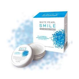 White Pearl Smile Fluor bělící zubní pudr 30 g