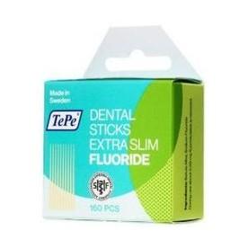 TePe Dental Sticks Extra Slim březová párátka s fluoridem, 160 ks