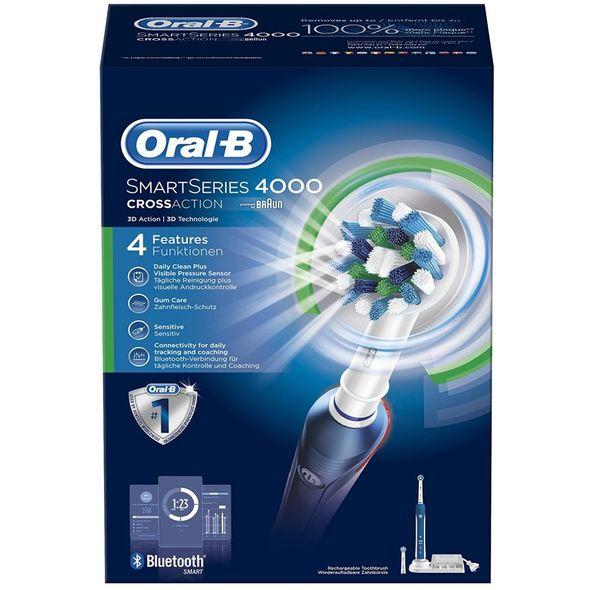 Braun Oral B SmartSeries 4000 CrossAction zubní kartáček