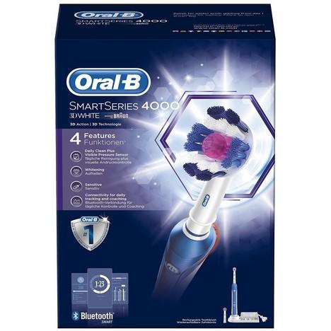 Braun Oral B SmartSeries 4000 3D White zubní kartáček