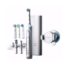 Oral-B Genius 8000 White zubní kartáček + 6ks hlavic v balení