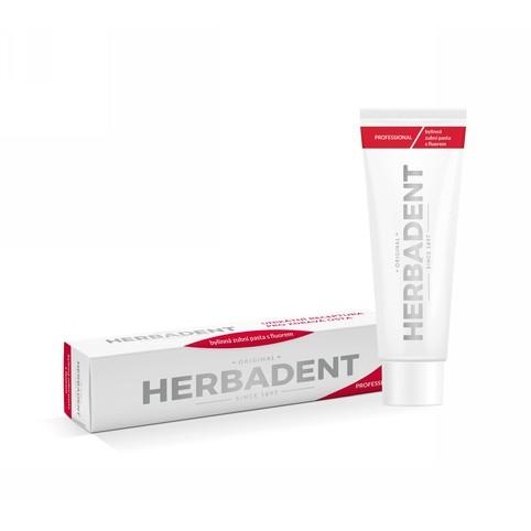 Herbadent Professional s fluorem bylinná zubní pasta 100g