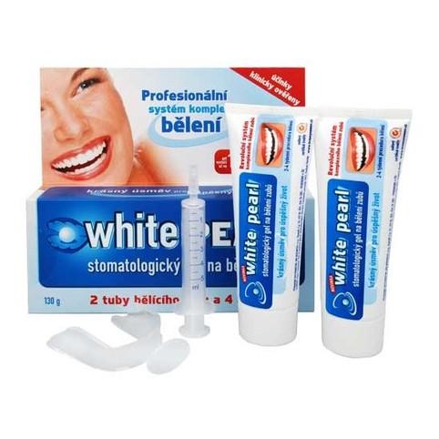 White Pearl set na domácí bělení zubů 138 ml
