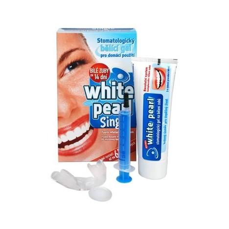 White Pearl Single set na domácí bělení zubů 65 g