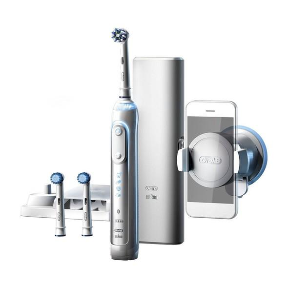Braun Oral-B Genius 8000S White zubní kartáček