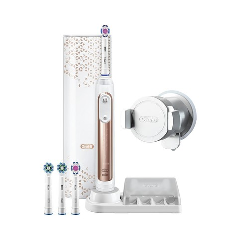Braun Oral-B Genius 9000W Rosegold zubní kartáček
