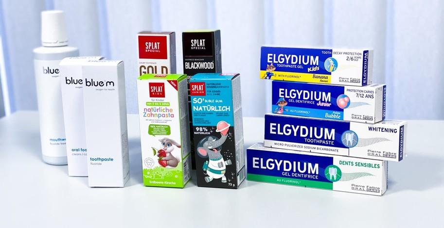 Bluem, Splat, Elgydium