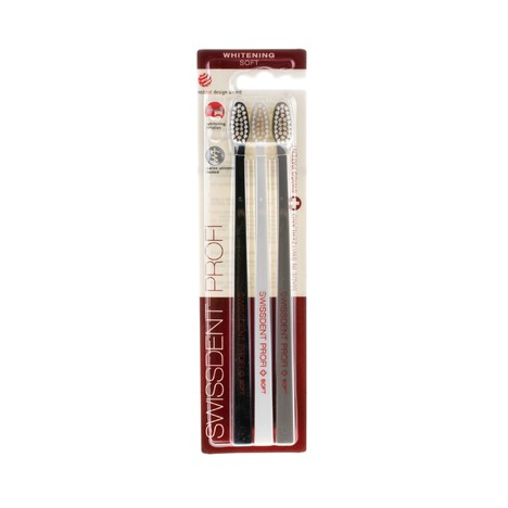 Swissdent Whitening Soft, 3 ks - Basel