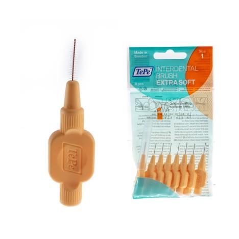 TePe Soft 0,45 mezizubní kartáčky oranžové 8 ks