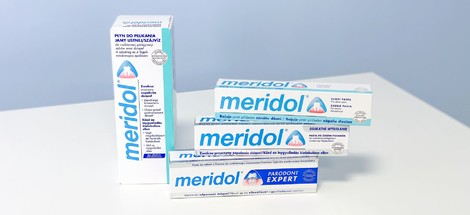 Produkty Meridol pomáhají bojovat se zánětem dásní
