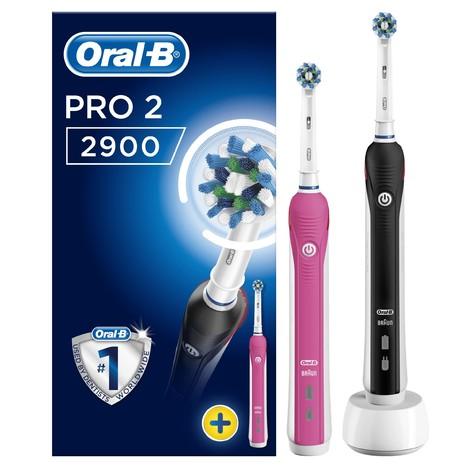 Oral-B PRO 2 2900 zubní kartáček 1+1 tělo