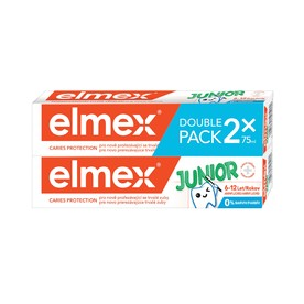 Elmex Junior zubní pasta 2x75 ml