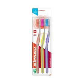 Elmex Ultra Soft zubní kartáček, 3 ks