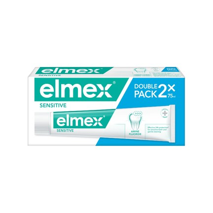 Elmex Sensitive zubní pasta 2x75 ml
