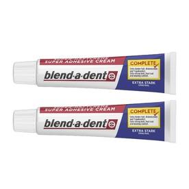 Blend-a-dent Complete Extra Stark fixační krém 2×47 g