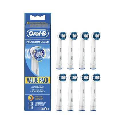 Oral-B Precision Clean EB 20-8 náhradní kartáčky 8 ks