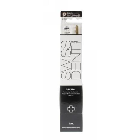Swissdent Crystal Combo Pack zubní pasta + zubní kartáček