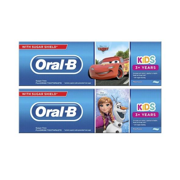 Oral-B Kids Cars/Frozen zubní pasta 75 ml