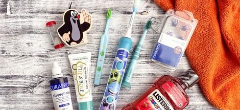 Jak přimět děti k čištění zubů?