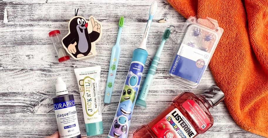 Jak přimět děti k čištění zubů