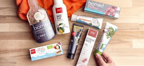 Biomed a SPLAT: Dvě značky s přírodním složením a super příchutěmi