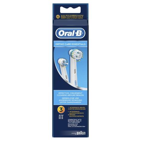 Oral-B OrthoCare Essentials náhradní hlavice 3 ks