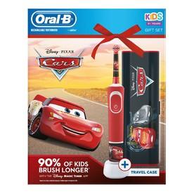 Oral-B Vitality Kids Cars zubní kartáček + cestovní pouzdro