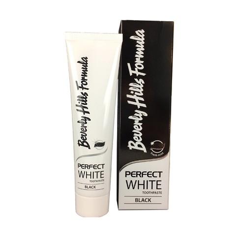 Beverly Hills Formula Perfect White Black zubní pasta 100 ml