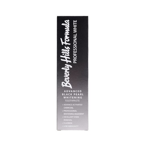 Beverly Hills Formula Professional White Black Pearl zubní pasta 100 ml