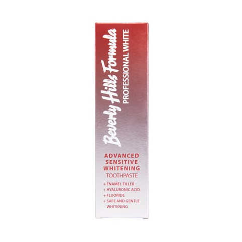 Beverly Hills Formula Advanced Sensitive Whitening bělicí zubní pasta 100 ml