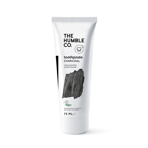 The Humble Charcoal zubní pasta 75 ml