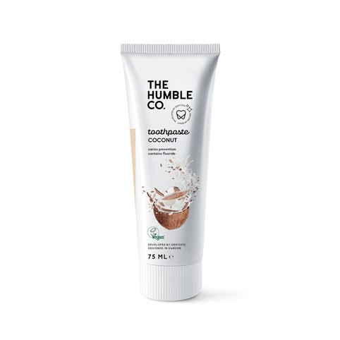The Humble Coconut & Salt zubní pasta 75 ml