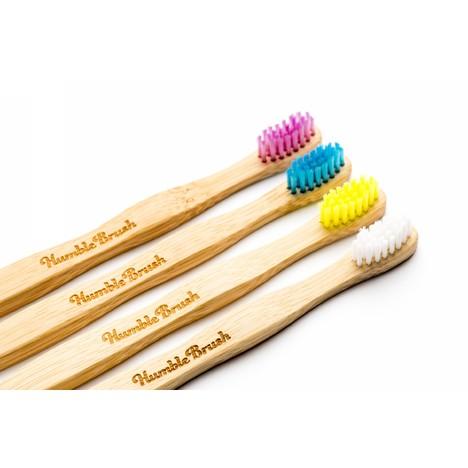 The Humble Brush Kids Ultra-Soft zubní kartáček 1 ks