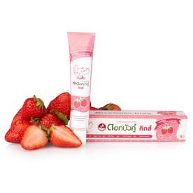 Twin Lotus Kids Strawberry dětská zubní pasta 35 g