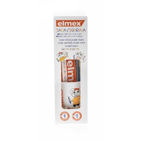 Elmex Kids sada zubní pasta + kartáček