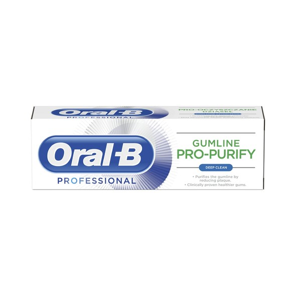 Oral-B Gumline Pro-Purify Deep Clean zubní pasta 75ml